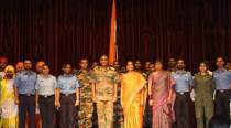 Defence Minister Nirmala Sitharaman spends Diwali with troops at Andaman and Nicobar Islands