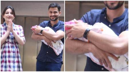 First photos of Soha Ali Khan, Kunal Khemu's daughter Inaaya Naumi Khemu out