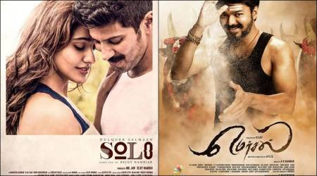 solo, mersal, solo poster, mersal poster, entertainment tax, entertainment tax tamil nadu, entertainment news, indian express news
