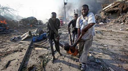 Three people die in bomb and gun attacks inSomalia