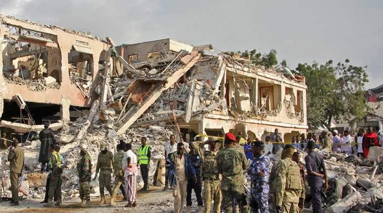somali news, bomb blast news, world news, indian express news