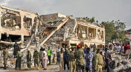 Twin blasts in Mogadishu; death toll rises to 231, more than 250 injured