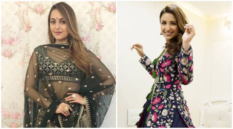 parineeti chopra, sonakshi sinha, parineeti chopra latest photos, sonakshi sinha latest photos, parineeti chopra fashion, parineeti chopra style, sonakshi sinha fashion, sonakshi sinha style, celeb fashion, bollywood fashion, indian express, indian express news