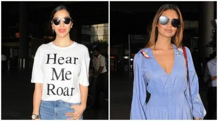 Esha Gupta or Sophie Choudry: Who nailed the airport look?