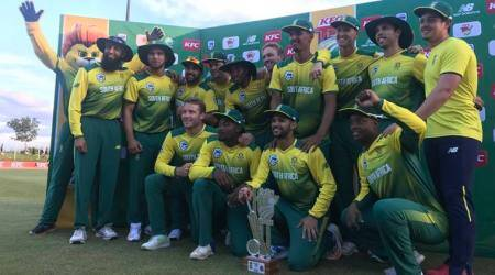 David Miller smashes record ton in T20I as South Africa complete tour whitewash