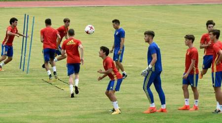 We played a near perfect match, says Spain coach Santi Denia