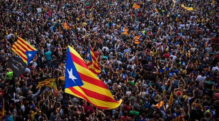 Catalonia, Catalonia independence, Catalonia referendum, what is catalonia, Spain crisis, Catalonia crisis, Mariano Rajoy, india news, indian express