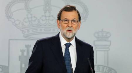 Spain PM Mariano Rajoy calls on companies not to leave Catalonia