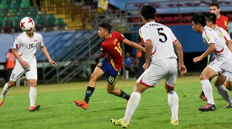 FIFA U-17 World Cup: Spain breeze past Korea, enter knockout