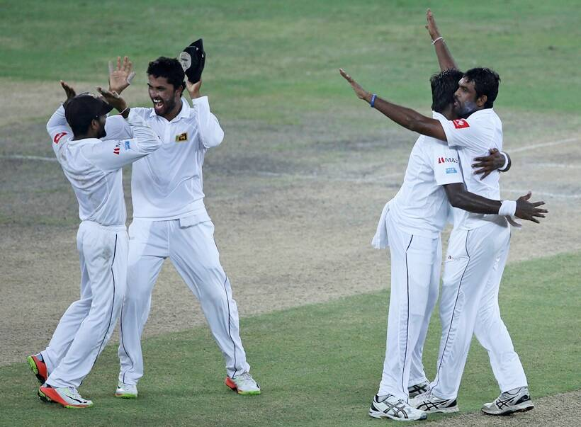 How off-spinner Perera headlined Sri Lanka's win