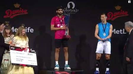 Kidambi Srikanth wins Denmark Open 2017, his third Super Series title of2017