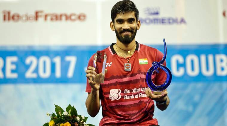 Kidambi Srikanth, Kenta Nishimoto, French Open Super Series, Denmark Open