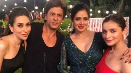 Shah Rukh Khan shoots with his favourite heroines for Aanand L Rai's next and the photos are making us nostalgic