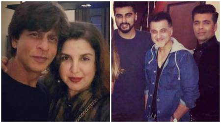 Shah Rukh Khan hosts Diwali get-together. Karan Johar, Farah Khan, Aanand L Rai, Arjun Kapoor and others in attendance