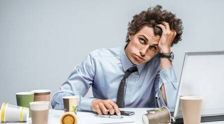 Work stress may lead to irregular heartrate