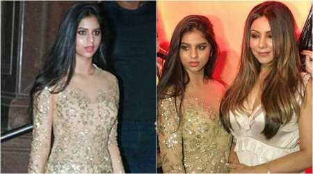 Suhana Khan turns heads at mother Gauri Khan's Halloween party. See inside photos
