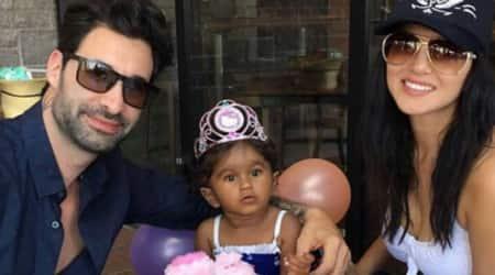 Photos: Sunny Leone and husband Daniel Weber celebrate daughter Nisha Kaur Weber's 2nd birthday inArizona