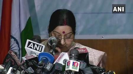 Determined to protect our societies from threat of ideologies of hate: Sushma Swaraj in Dhaka