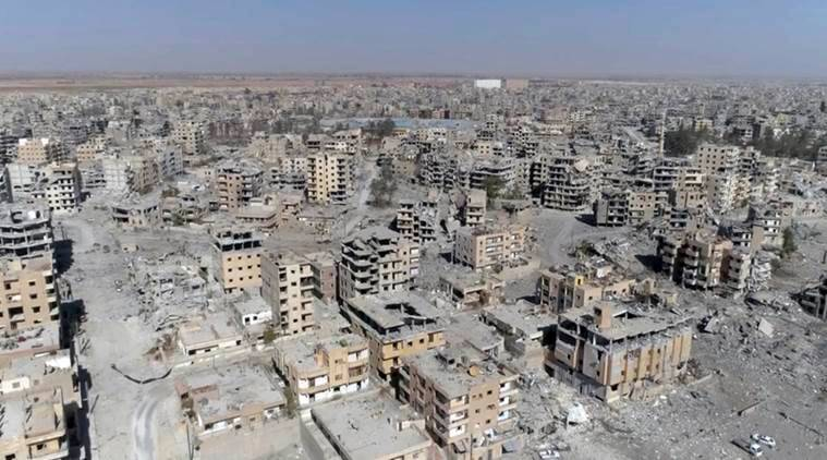 syria, isis, islamic state, syrian democratic forces, sdf, baghouz, caliphate, caliphate eliminated, troops, islamic state fighters, iraq, crisis in syria, damascus, jihadist rule, baghdadi, yazidis, turkey, kurds, russia, iran, israel, golan heights, united states, world news, indian express