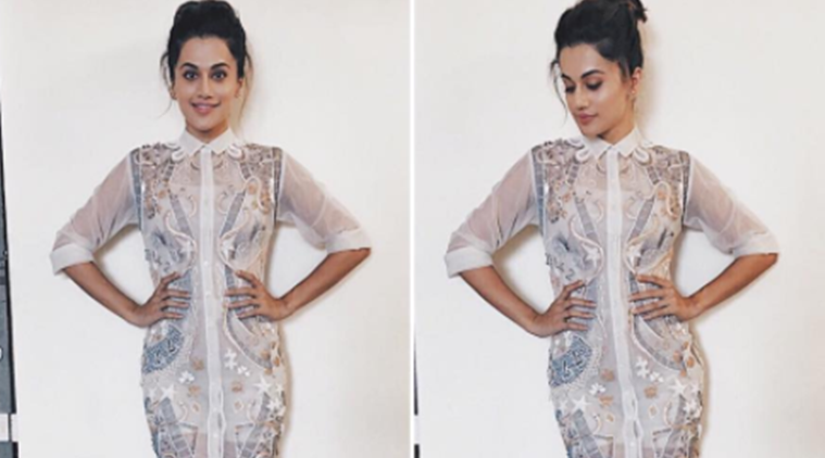 Taapsee Pannu, Taapsee Pannu latest photos, Taapsee Pannu fashion, Bollywood celebrity fashion, indian express, indian express news