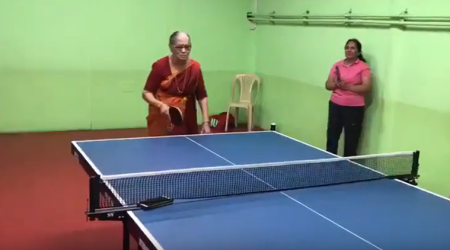 VIDEO: Smashing at 69, former Indian table tennis player's skills will leave you amazed