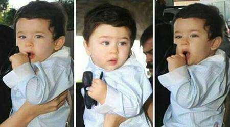 Like many, Saif Ali Khan is confused if Taimur Ali Khan looks more Kapoor or Pataudi. Watch video