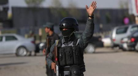 Taliban, Afghanistan suicide attack, Afghanistan Taliban, Afghan police HQ attack, World news, Indian Express