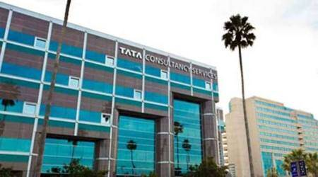 TCS, TCS shares, Tata Consultancy Services, Indian software company, business news, Indian express news