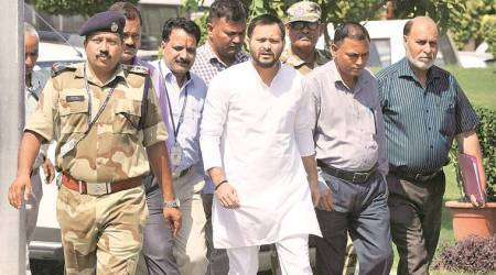 CBI questions Tejashwi Yadav in hotels-for-land case