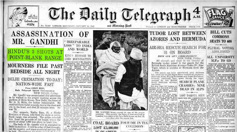 Tracking The Fourth Bullet That Has Given New Life To Mahatma Gandhi Murder Case Research News The Indian Express