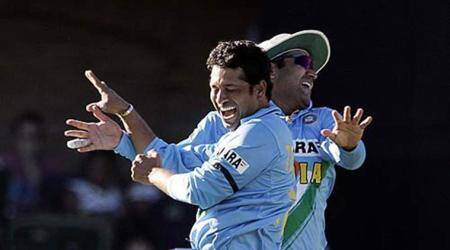 Sachin Tendulkar's 'ulta' wish for Virender Sehwag on 39th birthday goes viral on social media