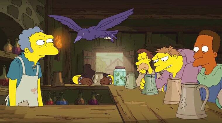 Watch The Simpsons parody Game Of Thrones in new episode