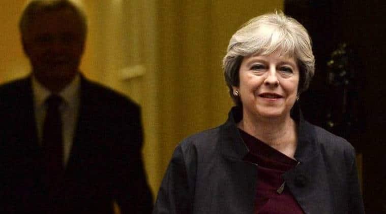 Theresa May, Catalonia, Spain, Catalan Independence, Mariano Rajoy, UK Spain, British PM, World news, Indian Express