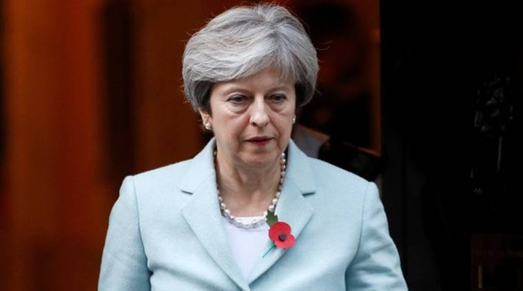 theresa mey, british pm, brexit, world news, indian express