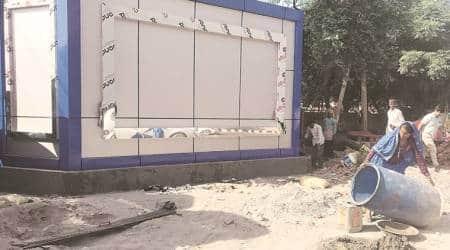 delhi toilets, delhi open defecation, delhi, swachh bharat toilets, delhi jhuggis, delhi news, indian express news