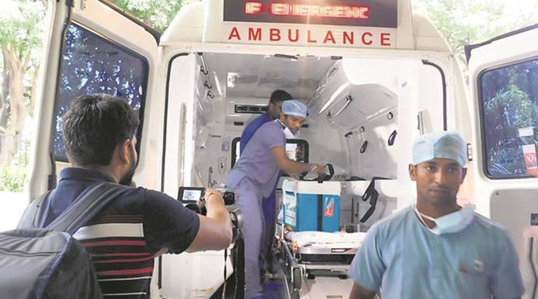 Navi Mumbai, Mumbai heart transplant, Mumbai Chennai heart transplant, Lebanese citizen heart transplant, Cadaver donation, India news, Indian Express