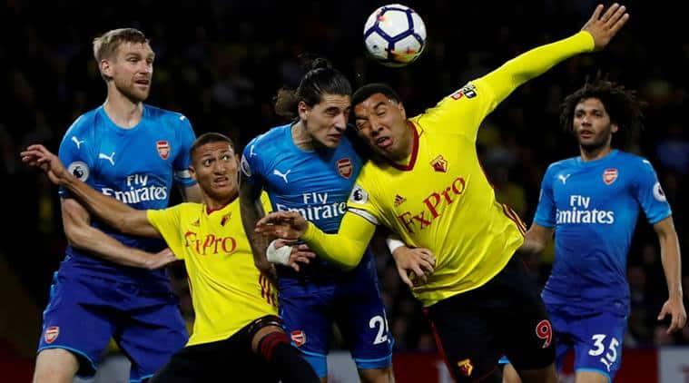 Troy Deeney, Troy Deeney Watford,Arsenal, Watford vs Arsenal, sports news, football, Indian Express