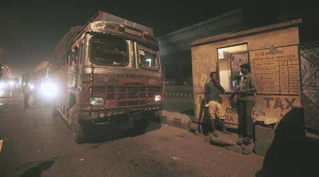 Truckers say forced to donate for pujas, want Mamata Banerjee to intervene