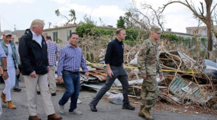 white house hurricane aid, congressional aid hurricane, hurricane texas puerto rico mexico aid, white house request congress hurricane aid, world news, indian express news