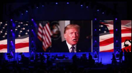 Donald Trump commends US ex-presidents as 'finest public servants' in avideo