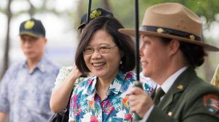 Taiwan understands need to spend more on defence, President Tsai Ing-wen says inUS