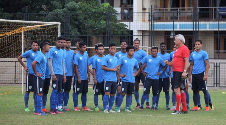 AFC U-19 Qualifiers, India squad, FIFA U-17 World Cup, sports news, football, Indian Express