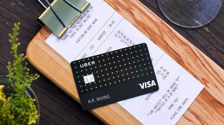 Uber rides into credit card market with no fee card the indian uber no fee card uber fee digital card uber card uber credit reheart Choice Image