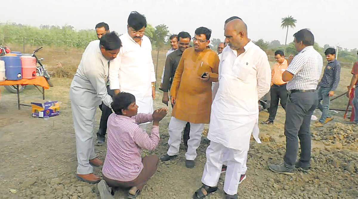 UP Minister Drives Over Farmer's Field, 'Destroys' Seeds