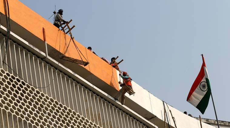 Image result for Now, UP Chief Minister's Secretariat gets a saffron touch, A