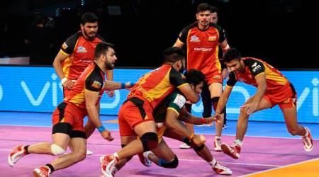 Pro Kabaddi 2017, Bengaluru bulls vs Up yoddha, UP vs Bengaluru , Pro Kabaddi, Kabaddi news, Indian express