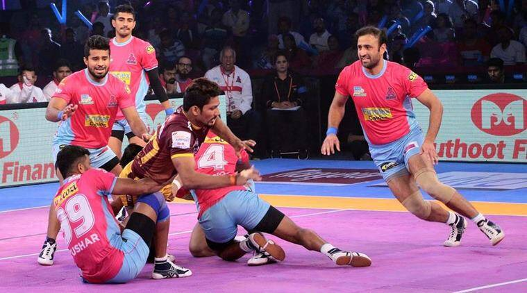 Devadiga created the record for most points scored by a raider ever in a Pro Kabaddi League match