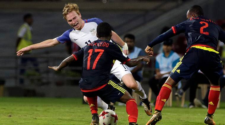 FIFA U-17 World Cup: USA advance despite losing to Colombia