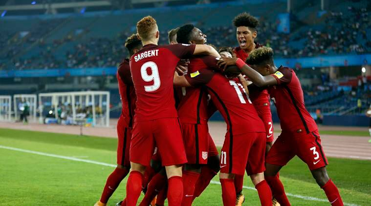 usa vs ghana, fifa u17 world cup, fifa under 17 wc, usa ghana fifa, football news, sports news, indian express