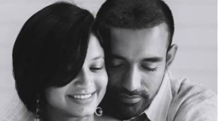 Robin Uthappa welcomes first child with wife Sheethal Goutham